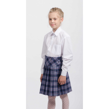 Bērnu zils polo krekls