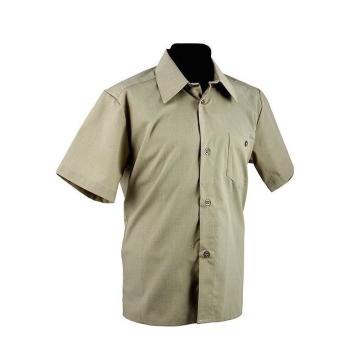 Рубашка милитари с коротким...
