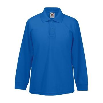 Синяя рубашка с короткими...